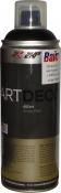 Акриловая аэрозольная эмаль 2XP ART DECO RAL-9005 черная матовая, 400 мл