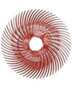 61500147998 RB-ZB Круг полимерный Scotch-Brite Bristle, радиальный, тип С, красный, d19мм, Р220