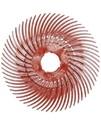 33213 BB-ZB Круг полимерный Scotch-Brite Bristle, радиальный, тип С, красный, d150мм, Р220
