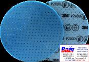 33544 3M Гибкий абразивный диск на вспененной основе 3М d150мм, P2000