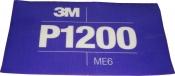 34342 3M™ Гибкий полировальный абразивный лист CROW Hookit™ 140 мм x 171 мм, P1200