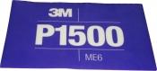 34343 3M™ Гибкий полировальный абразивный лист CROW Hookit™ 140 мм x 171 мм, P1500