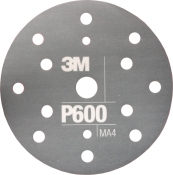34417 3M™ Гибкий матирующий абразивный диск CROW, d150 мм, P400