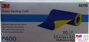 35110 3M™ Гибкие абразивные листы в рулонах 139 х 114 мм, P400