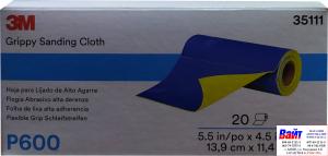Купить 35111 3M™ Гибкие абразивные листы в рулонах 139 х 114 мм, P600 - Vait.ua