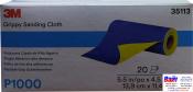 35113 3M™ Гибкие абразивные листы в рулонах 139 х 114 мм, P1000