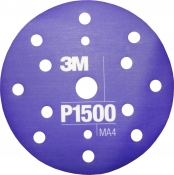 34423 3M™ Гибкий полировальный абразивный диск CROW, d150 мм, P1500