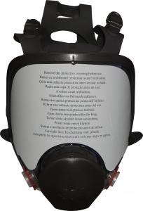 Купить 6800Полнолицевая маска 3M для покрасочных работ серии 6000, без фильтров, средняя - Vait.ua