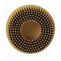 07527 RD-ZB Диск-щетка для 3M Roloc™ Scotch-Brite™ Bristle, полимерный, желтый, 75мм, Р80