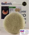 Полировальный круг Flexipads из натуральной овчины Ø 150мм (СТАНДАРТ), длина ворса 20мм, крепление липучка