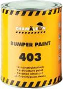 Краска для бампера структурная CHAMAELEON 403 Bamper Paint черная, 1л