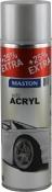 Акриловая эмаль для дисков Maston серебро, 500 мл