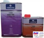 2К Акрилово-полиуретановый лак Roberlo UNIX 450HS (1л) + отвердитель C355 (0,5л)