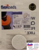 Войлочный диск для полировки стекол Flexipads Ø 50мм, стойкий к износу, крепление липучка