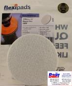 Войлочный диск для полировки стекол Flexipads Ø 135мм, стойкий к износу, крепление липучка
