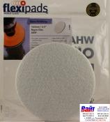 Войлочный диск для полировки стекол Flexipads Ø 160мм, стойкий к износу, крепление липучка