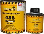 Акриловый грунт-наполнитель 488 5+1 Chamaleon HS Optimal (1л) + отвердитель (0,2л), серый