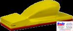 """5-170-0005, C.A.R.FIT, Шлифовальный блок, крепление """"липучка"""", прямой, 70 х 198мм"""