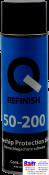 50-200-0501, Q-Refinish, Антигравийное покрытие 500мл, черное (аэрозоль)