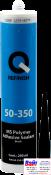 50-350-2902, Q-Refinish, MS Герметик черный, туба 290мл