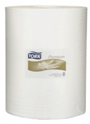 Tork 510137 Нетканый материал Premium 510 в рулоне в коробе, 152м, 400 листов
