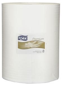 Купить 530137 Нетканный материал повышенной прочности в рулоне Tork Premium 530, 106,4м, 280 листов, 32 х 38см - Vait.ua