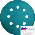 Круг абразивный SUNMIGHT FILM VELCRO D125mm, 8 отверстий, P1200