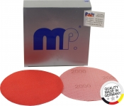 MP Easy Fleecy d.150mm Круг шлифовальный на тканевой основе, красный, Velcro Р 2000