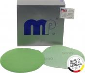 MP Easy Fleecy d.150mm Круг шлифовальный на тканевой основе, зеленый, Velcro Р 3000