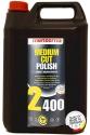 Более жидкая полировальная паста среднего зерна «MENZERNA» Medium Cut Polish 2400, 5л / 5,3кг