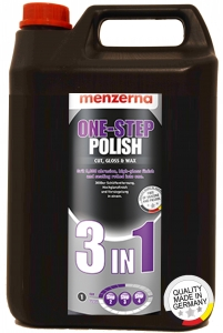 Купить Универсальная полировальная паста «MENZERNA» One step 3в1, 5л / 5кг - Vait.ua
