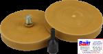 60-500-0002, Q-Refinish, Диск для удаления двухсторонних клеящих лент, комплект (2 диска + адаптер)