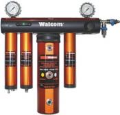 Mодульная фильтр-группа подготовки воздуха Walcom FSRD 3