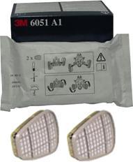 Купить 6051 Фильтр от органических газов и паров 3M - Vait.ua