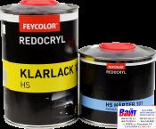 2К Лак акриловый 2К HS Feycolor (1л) + отвердитель (0,5л)