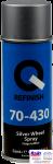 70-430-0400, Q-Refinish, Краска Silver Wheel Spray серебро, аэрозоль 400мл