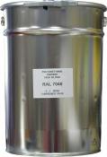 Эмаль полиуретановая RAL 7040 в комплекте с отвердителем и растворителем, банка 15л