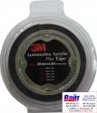 72323 3M Двусторонняя клеющая лента PT 1100 толщина 1.1 мм, цвет - черный, 25мм х 2м