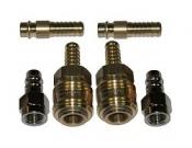 Комплект быстроразъемных соединений SATA 9мм (2x - 13631, 2x - 13557, 2x - 13656)