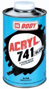 Купить Растворитель медленный BODY SLOW 741, 1л - Vait.ua