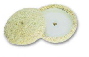 Купить Полировальный диск Mirka Polarshine Ø 180 мм из крученной шерстяной нити (на липучке) - Vait.ua