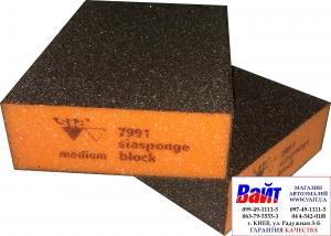 Купить Абразивный блок 4-х сторонний SIA, 98x69x26мм Medium - Vait.ua