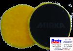 Полировальный диск Mirka Pro Ø 150 мм из натуральной овчины (на липучке), желтый
