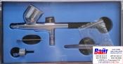 80-896 Аэрограф профессиональный металлический MIOL PREMIUM, дюза 0,3мм