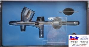 Купить 80-897 Аэрограф профессиональный металлический MIOL PREMIUM, дюза 0,2мм - Vait.ua