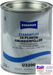 Standoflex 2K Plastic Primer Surfacer U3200 Light Grey, Грунт-наполнитель для пластиков, Светло - серый (1л), 02082551, 82551, 4024669825510