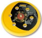 """Диск-подошва Mirka D150 мм, 6 отверстий, средней жесткости, 5/16"""" (клеевая основа) для шлифовальной машинки"""
