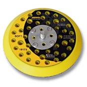 """Диск-подошва Mirka D150 мм, 73 отверстия, средней жесткости, 5/16"""" (на липучке) для шлифовальной машинки"""
