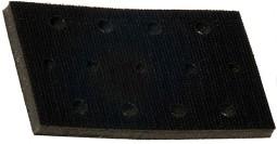 Купить Мягкая подложка для ручных рубанков Mirka 70x125мм, 13 отверстий, высота 7 мм - Vait.ua
