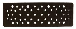 Купить Мягкая подложка для ручных рубанков Mirka 70x198мм, 56 отверстий, высота 7мм - Vait.ua